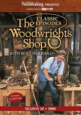 NEW! The Woodwright's Shop with Roy Underhill Season 26 [DVD]