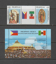 Philippine Stamps 2003 Black Nazarene & Our Lady of Guadalupe Complete set MNH