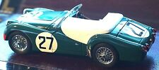 Rare Kyosho Triumph TR3S No 27 Green Opening Parts Model 1:18 Mint Box Stunner
