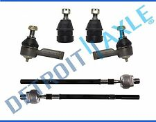 NEW 6pc Front Suspension Tie Rod & Ball Joint Set for 2000-2005 Hyundai Accent