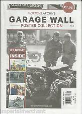 Mortons Archive auto car magazine Garage Wall poster collection Premiere issue