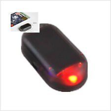 Car Solar energy E-Tech Dummy Fake Flashing Caravan Security Alarm red LED Light