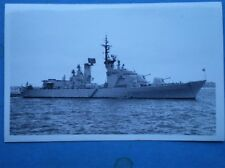 PHOTO  DESTROYER ARDITO (ITALY) D550 AT SPITHEAD 26/6/77