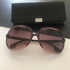 HUGO BOSS ORANGE Women's Transparent Pink Oversized Butterfly Sunglasses BO0051S