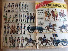 CORRIERE DEI PICCOLI 50 13 DICEMBRE 1964  FIGURINE SOLDATI D' ITALIA 1796-1815