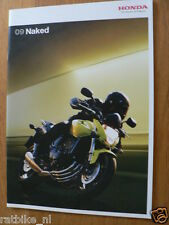 HAP-324 HONDA  BROCHURE 2009 NAKED BIKES MODELS  DUTCH 28 PAGES,CB1300S,CB1000R