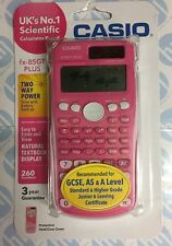 Casio Scientific Calculator FX-85GT Plus Pink Colour New In Pink