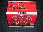 Nintendo Official Hori Classic Controller MARIO RED for Wii / U Super Smah Bros.