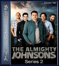 THE ALMIGHTY JOHNSONS - COMLETE SERIES 2 **BRAND NEW DVD **