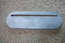 "Delta 10'' Tilting Top Table Saw INSERT 12"" X 3 3/4""CAT NO. 1163"