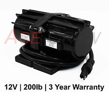 New 200LB Salt & Sand Vibrator Motor 200LB Spreader =3 Year Warranty=