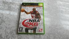 XBOX NBA 2K6 jeu vidéo complet en boite Français