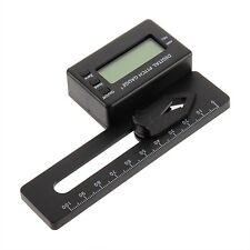 LCD Digital Display Pitch Gauge For 200-800 Flybarless Helicopter Models