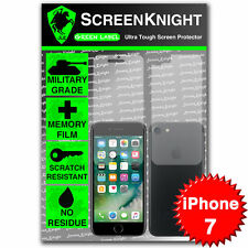 "Screenknight Apple iPhone 7/4.7"" cuerpo completo pantalla protector escudo Militar"