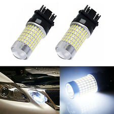 2x 3157 3156 Super Bright 6000K White 144SMD Back Up Reverse Tail LED Light Bulb