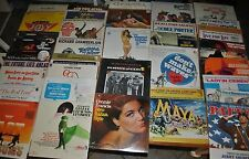 LOT 37 NEW SOUNDTRACK SHOW ALBUMS/RECORDS 1960'S: WELCH, McQUEEN, BEATTY & MORE