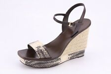 $350 NEW Tory Burch Malaga Wedge Platform Sandals Mismate sizes L 6.5 R 7.5