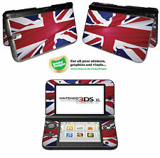 Great Britain Flag (Union Jack) Vinyl Skin Sticker for Nintendo 3DS XL