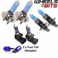 H7 H1 HB3 55w HALOGEN HID XENON GAS FILLED BULBS upto 50% BRIGHTER Cool Blue