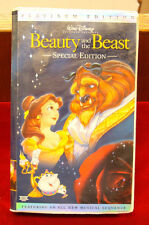 VHS - Disney's Beauty and the Beast (Platinum Edition / 1991)