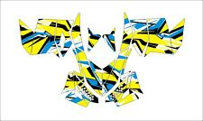 SKI DOO BRP REV XP XM XR Z SUMMIT GRAPHICS DECAL WRAP 163 154 146 137 new YELLOW