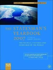 The Statesman's Yearbook 2007: The Politics, Cultures and Economies of-ExLibrary