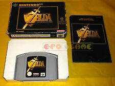THE LEGEND OF ZELDA OCARINA OF TIME Nintendo 64 N64 Vers. PAL Italiana COMPLETO