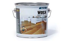 WOCA Hartwachs Öl natur 2,5 Liter / Öl / Holz / Parkett / Bodenbelag