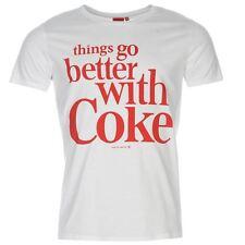 Coca Cola T-shirt Männer - weiß - Größe XL - neu  mit Etikett