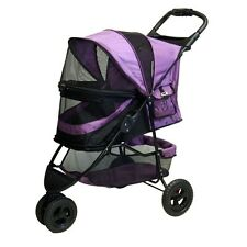 Pet Gear No-Zip Special Edition Pet Stroller, Orchid PG8250NZOR STROLLER NEW
