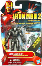 Marvel IRON MAN Movie 2 WAR MACHINE Ironman VHTF Black Design Variant Mark 1