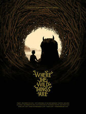Where the Wild Things Are Matt Taylor Art Poster Mondo Tom Whalen Olly Moss