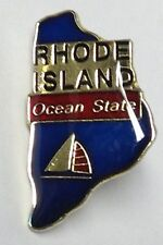 RHODE ISLAND STATE LAPEL PIN HAT TAC NEW