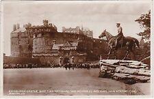 Scottish War Memorial, Earl Haig Statue & Castle, EDINBURGH, Midlothian RP