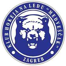 "Medvescak Zagreb KHL Hockey Car Bumper Window Locker Sticker Decal 4.6""X4.6"""