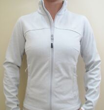New Womens North Face Fleece Zip Jacket Canyonwall Gardenia White Exta Large XL