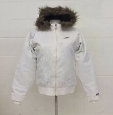 Helly Hansen Hooded White Insulated Jacket Women's Small NEW Fast Shipping LOOK