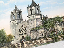 EARLY ONE 1 CENT 1ST FIRST MISSION DE LA PURISIMA SAN ANTONIO POSTCARD POST CARD