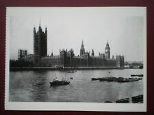 POSTCARD LONDON THE HOUSES OF PARLIAMENT C1900  SIZE 6.5 X 4.5