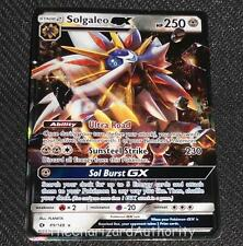 Solgaleo GX 89/149 SM Sun & Moon Base Set NEAR MINT Pokemon Card