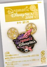 3rd Tokyo Disney Sea Dramatic Colorful Mickey Mouse Jeweled Icon Head & Card