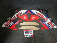 Honda CRF250 2010-13 CRF450 2009-2012 Lucas Oil radiator shroud graphics GR1480