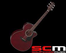 RRP$569 Takamine ED2NCWR NEX Acoustic Electric Guitar Pickup Wine Red Finish