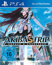 Akiba 'S TRIP 2 Undead & Undressed NUOVO ps4-gioco