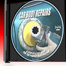 HOW TO REPAIR CAR BODY PANEL DENTS DVD STEP BY STEP FILLING SPRAYING ++ NEW