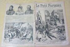 Le petit parisien 1891 139 Le général Raoult mort à Reischoffen Bagarre Kergrist