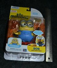 MINIONS A MOVIE EXCLUSIVE POSEABLE DELUXE ACTION FIGURE BOB WITH TEDDY BEAR