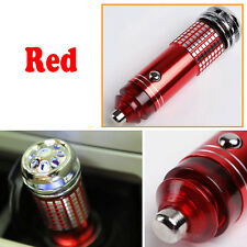 1pc Car Mini Home Fresh Air Ionic Purifier Oxygen Bar Red Ozone Ionizer Cleaner