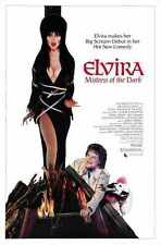 Elvira Mistress Of The Dark Poster 01 A3 Box CanvaS Print