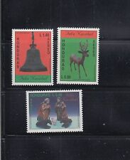 Honduras 1995 Christmas Sc C962-964  Complete  Mint Never Hinged